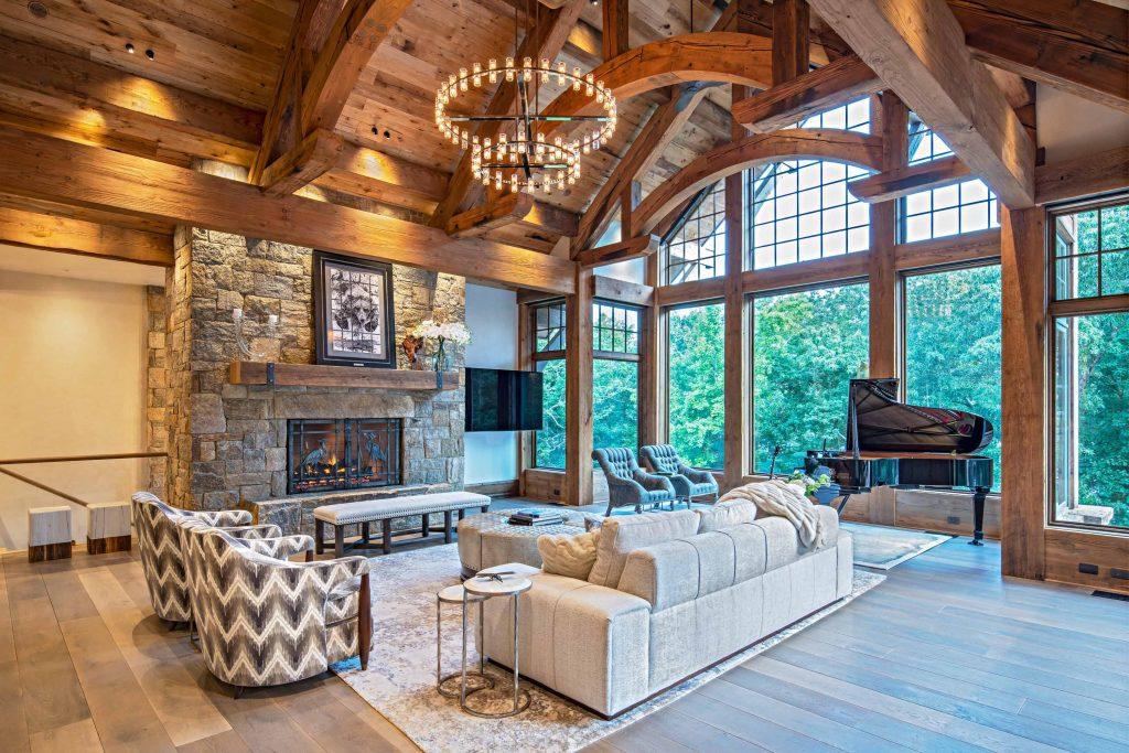 Rustic Elegance in North Carolina